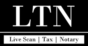 Live Scan, Tax and Notary - Logo